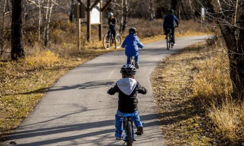 Tag børnene med på cykeltur i ferien